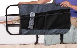 노인 보관용 포크가 있는 높이 조절 가능 침대 보조 바