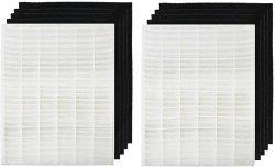 HEPAカーボンフィルター置換のWinix 115115の空気清浄器フィルターWac5300 Wac5500 Wac6300 5200-2