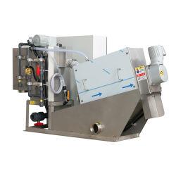 Tratamento de Águas Residuais de poupança de energia química do filtro de pressão do óleo da máquina de desidratação de lamas industriais para Indústria Aqua