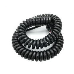 Best Selling forte elasticidade bobina elásticas capota 220V, 110V, 500V Cabo em espiral do Reboque