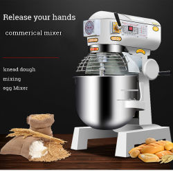 Hr-20 gros oeuf lait Mixer multifonctionnelle Food Processor Blender Mixer mélangeur de la machine Machine de cuisson de pain de la pâte d'oeufs Mélangeur/50kg mélangeur en spirale