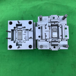 Cara de plástico molde molde de la parte de Shell eléctrico radio bidireccional molde inyectado