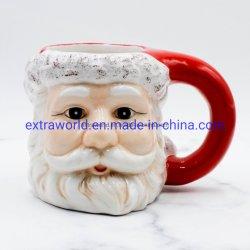 Керамические доломита Санта Клаускружки кофе для рождественских подарков
