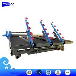3826 다기능 CNC 유리/슬랩/스톤/타일/세라믹 커팅 머신, 절단, 적재, 자동 딜리 및 유리 브레이크 오프 테이블