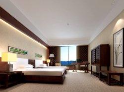 Aangepaste Chinese Houten Nieuw Classic Hotel Standaard Tweepersoonskamer met 2 Aparte Bedden Slaapkamer Meubilair