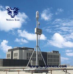 Gewicht-S5000 de Afstandsbediening van de Opsporing van het Spectrum signaleert de Signalen van de Transmissie van Gegevens van Uav de Vroege Waarschuwing van de Opsporing van Uav realiseren