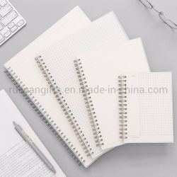 PP-cover Spiral Notebook for School Notebook A5, A6, B5