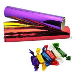 사탕 초콜렛을%s 꼬이는 플라스틱 PVC 필름 박판 포장지 알루미늄 호일 롤필름