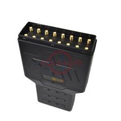 16 antenas RF bloqueio do sinal de Mão Bloqueador Jammers 25m de bloqueio de spam portátil bloqueador de chamadas