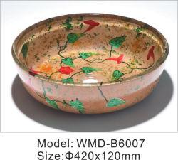 シングルボウルのモダンなガラスの家庭用品、美しいバスルームウォッシュ 洗面台