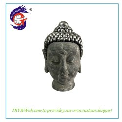 Statua dei Figurines del Buddha della decorazione della casa della resina del giardino mini