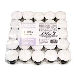 Porcellana fabbrica di candele all'ingrosso Bianco tè 9 ore candela luce
