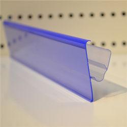 ホテセールスーパーマーケットエクストルージョンプラスチックプライス棚板ストリップラベルホルダー