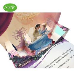공급 다채로운 Costom에 의하여 인쇄되는 아이들 팝업 마분지 3D 만화 이야기 책