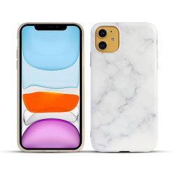 Matte de luxe en marbre TPU IMD Téléphone Housse Etui silicone en caoutchouc souple de cas pour l'iPhone 11 PRO