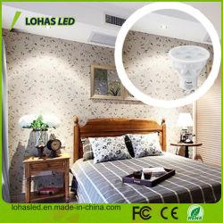 Светодиодная лампа с регулируемой яркостью 86-265V AC GU10 5W 6W 7W холодной белой светодиодной лампы фонаря направленного света