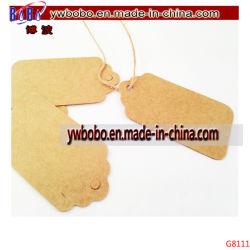 Mini Kraft Gift Tag etichette per bagagli etichette per abiti etichetta per abiti (G8111)