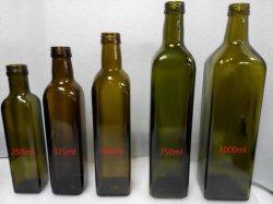 Marasca bouteille d'huile d'olive/Dorica Bouteille de verre d'huile d'olive