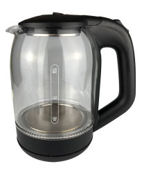 Style populaire bouilloire électronique en verre avec chauffage dissimulée 2.0L