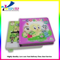 中国の工場習慣はハードカバーの標準的な子供のボードの本の印刷のフルカラーの専門の本の印刷サービスをからかう