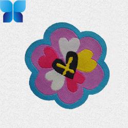 Gesponnene Gewebe-Blumen-Änderung am Objektprogramm für das Kind-Kleiden