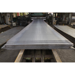 ASTM A36/Ss400/Q235B Baumaterial Heißgewalztes Stahlblech für Brückenstruktur
