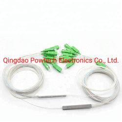 PLC van de Buis van het Staal van de Telecommunicatie Gpon van de vezel Optische 1X8 Splitsers