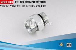 Adaptateur hydraulique Hex de tube convenable hydraulique droit mâle de raccord