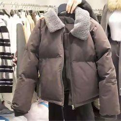 OEM ODM Mujeres moda estilo suelto Down chaquetas
