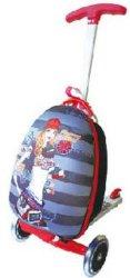 EVA 15 pouces Cartoon carapace dure, les enfants voyageant scooter de bagages