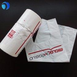 Vest lidar com sacos de plástico de HDPE/LDPE Imprimir T-shirt embalagem de polietileno Saco Clara Comercial biodegradáveis sacos de plástico