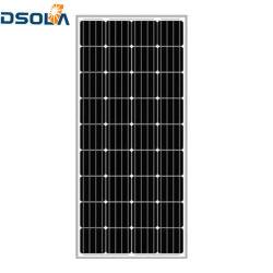 Rótulo personalizado Dsola Produto Premium constituídos Painel Solar