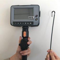携帯用産業点検5.5mmのマイクロのヘビのカメラ、4.5インチスクリーンの産業内視鏡が付いている連結の内視鏡検査法のカメラ