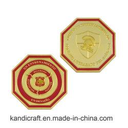 Commercio All'Ingrosso Custom High Quality Diamond Edge Metal Coin Souvenir Purse Box Bank