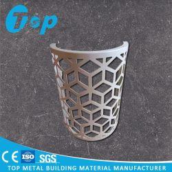 De commerciële Bouw sneed het Geperforeerde Scherm van het Comité van het Aluminium Stevige voor de Decoratie van de Muur