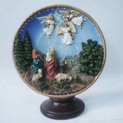休日の装飾のギフトは樹脂の宗教技術を使用する