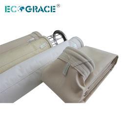 De Stoffige Filter op hoge temperatuur van de Installatie van het Asfalt van de Filter van de Zak van het Gas Nomex Gevoelde