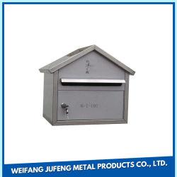 Acero Inoxidable Aluminio/Carta/Periódico de verificación para el exterior con revestimiento de la alimentación