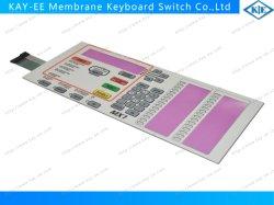 OEM-LED прозрачные окна купол мембраны клавиатуры с помощью щитка защиты от электростатических разрядов