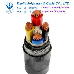 25mm2 gepanzertes Schweißens-Kabel des Kabel-PUR für Produktionszweig, kupferne Leiter-Energien-elektrisches Drahtseil