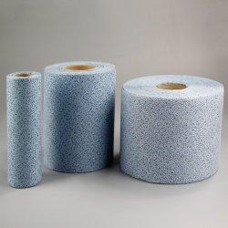 Jumbo rouleau de 100 % de lingettes de nettoyage industriel en polypropylène non-tissés