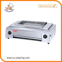 BBQ van de Machine van /Grill van de Oven van de Barbecue van het Gas van het restaurant Commerciële Rookloze