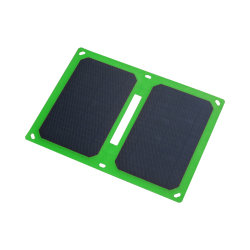 10W painel solar dobrável Carregador portátil Telefone móvel portátil USB para banco de Energia da Bateria