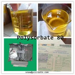 99 % Polysorbate 80 sécuritaire pour les solvants organiques utilisés dans les aliments d'émulsifiant 9005-70-3