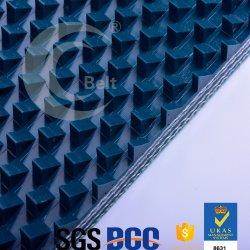 12.5mm correia transportadora de PVC para polimento de mármore de duas vias
