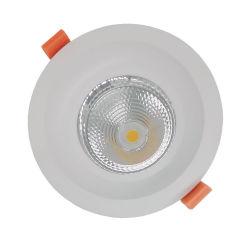 مصباح LED غائر مشتعل مقاوم للأتربة بقوة 4 بوصات 20 واط ضوء السقف السفلي