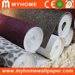 PVC Vinyl Schlafzimmer Wandpapier mit Klebstoff