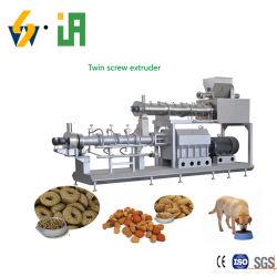 Machine de traitement des aliments pour animaux de compagnie à sec Les aliments pour chiens Aliments pour chats machines de production