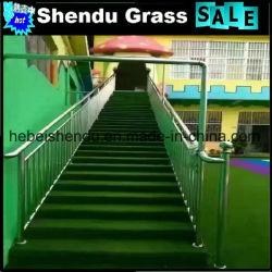 Les escaliers de l'Herbe synthétique souple décoratifs 25mm 140Stitch
