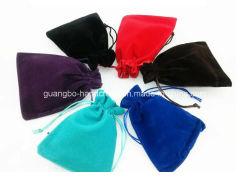 Petit sac avec lacet de serrage de la promotion des sachets de velours sac pochette